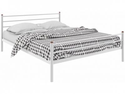Кровать Милана Plus белая