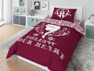 Комплект постельного белья DISNEY 1,5СП Follow your heart