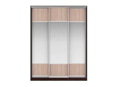 Шкаф-купе Наоми Вариант 3 Фасады ЛДСП-Зеркало